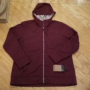 NWT plus size XXL North Face zip hoodie